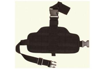 Fox Outdoor Combat Drop Leg Panel, Black 099598582319
