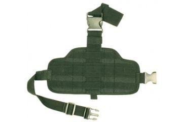 Fox Outdoor Combat Drop Leg Panel, Olive Drab 099598582081