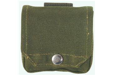 Fox Outdoor Compass Pouch Canvas, Olive Drab 099598407605