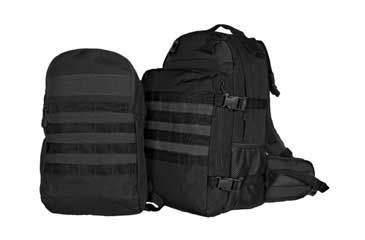 Fox Outdoor Dual Tactical Pack System, Black 099598563417
