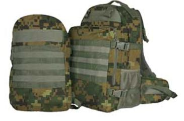 Fox Outdoor Dual Tactical Pack System, Digital Woodland 099598563431