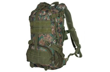Fox Outdoor Elite Excursionary Hydration Pack, Digital Woodland 099598562632