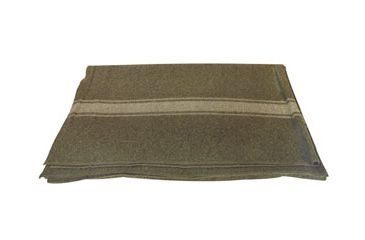 1-Fox Outdoor Italian Army Style Wool Blanket