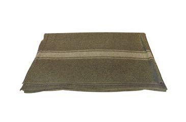 1-Fox Outdoor Italian Army Style Wool Blanket