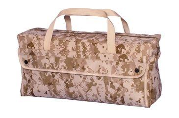 Fox Outdoor Jumbo Mechanics Tool Bag w/ Brass Zipper, Digital Desert 099598406523