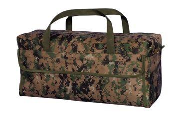Fox Outdoor Jumbo Mechanics Tool Bag w/ Brass Zipper, Digital Woodland 099598406547