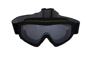 Fox Outdoor Kalahari Tactical Goggle, Black 099598852016