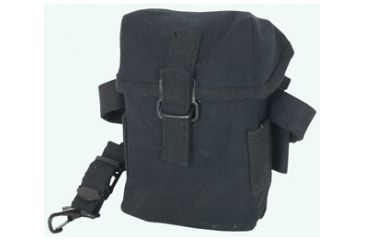 Fox Outdoor Korean Army Style Boxed Pouch, Black 099598407506