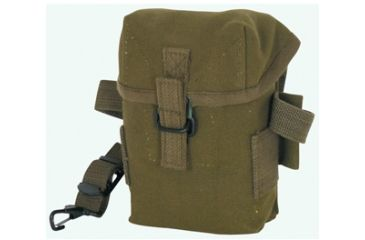 Fox Outdoor Korean Army Style Boxed Pouch, Olive Drab 099598407407