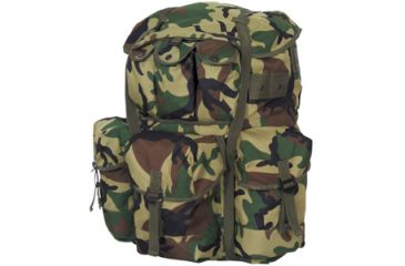 Fox Outdoor Large A.L.I.C.E. Field Pack, Woodland Camo 099598545147