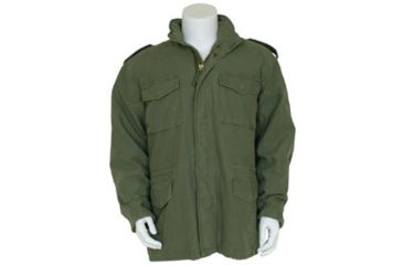 Fox Outdoor Mens Retro M65 Field Jacket w/ Liner, Olive Drab, L 099598303051