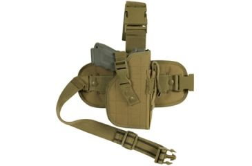 Fox Outdoor Mission Ready Drop Leg Holster, Coyote 099598580889