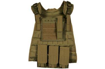 Fox Outdoor Modular Plate Carrier Vest, Coyote 099598652883