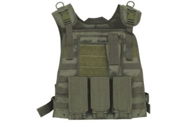 Fox Outdoor Modular Plate Carrier Vest, Olive Drab 099598012809