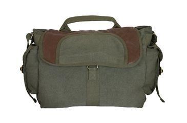 Fox Outdoor Retro Bavarian Alps Messenger Bag, Olive Drab 099598433307