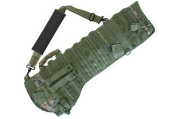 Fox Outdoor Tactical Assault Rifle Scabbard, Digital Woodland 099598584436