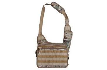 Fox Outdoor Tactical Messenger Bag, Multicam 099598513399