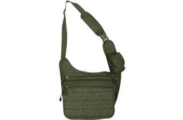 Fox Outdoor Tactical Messenger Bag, Olive Drab 099598513306