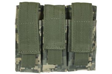Fox Outdoor Triple Pistol Mag Pouch, Army Digital 099598575373