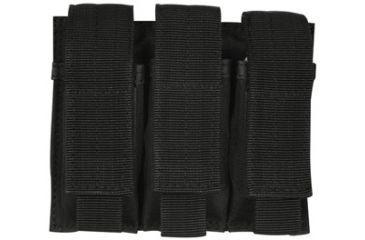 Fox Outdoor Triple Pistol Mag Pouch, Black 099598575311