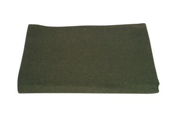 Fox Outdoor Wool Camp Blanket, Olive Drab 099598818500