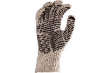 Fox River Gripper Gloves, Brown Tweed, Large 527848