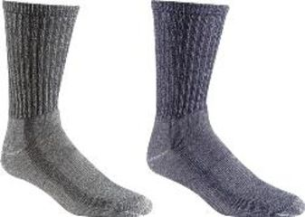 Fox River Trail Pack Socks, Charcoal-Navy, Large 607113