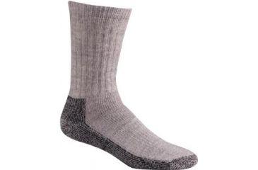 Fox River Trailhead Merino Sock, Grey Heather, Small 601244
