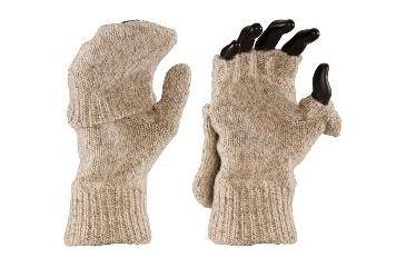 Fox River Wool Glomitten, Brown Tweed, Medium 527853