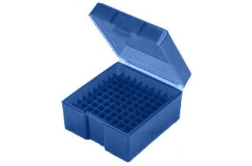 Frankford Arsenal .38/.357 Caliber Ammo Box, #1003 - 100 Count, Blue 930447