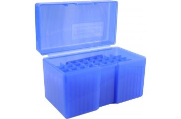 Frankford Arsenal 270-30/06 Caliber Ammo Box, #510 - 50 Count, Blue 513329