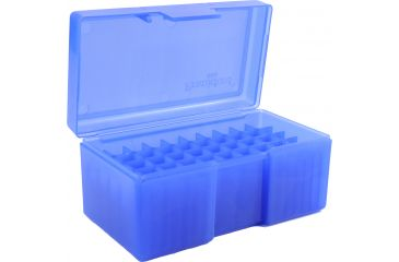 Frankford Arsenal 22 Hornet-30 M1 Caliber Ammo Box, #504 - 50 Count, Blue 698582