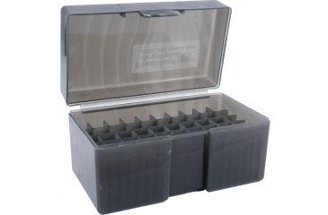 Frankford Arsenal .243-.308 Caliber Ammo Box, #590 - 50 Count, Gray 122804