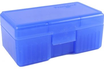 Frankford Arsenal .38/.357 Caliber Ammo Box, #503 - 50 Count, Blue 642557