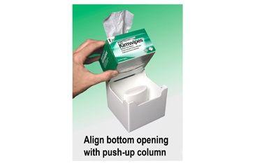 FTR Enterprises Dispenser Kimwipe Push-up Box PUB1A, Unit EA