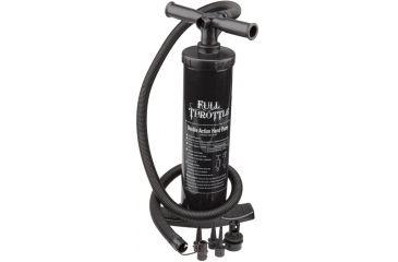Full Throttle Air Pump, Univ, Double Action Hand Pump P101BLK99