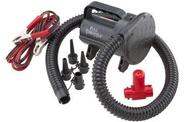Full Throttle Air Pump, Univ, High Pressure 12V Air Pump120V, Bk P120BLK99