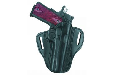 G&G B800-194LH Open Top Two Slot Holster, Black, Left Hand - 1911-Style, 3-4.25in BBL