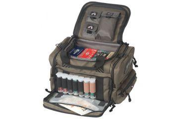 G*Outdoors 1411SC Sporting Clays Range Bag W/Waterprrof Cover Nylon Green