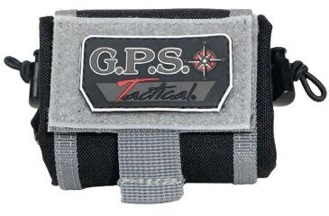 G. Outdoors Products Tactical Belt-Styled Brass Pouch, Black GPS-T88BC