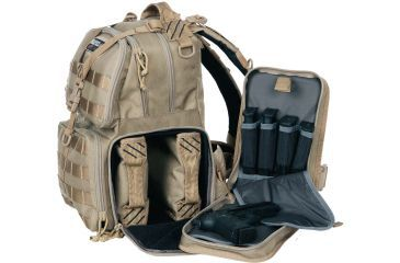 G. Outdoors Products Tactical Range Backpack, Tan GPS-T1612BPT