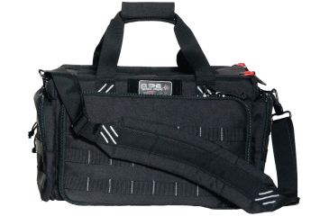 G. Outdoors Products Tactical Range Bag with Identification Insert, Black GPS-T1813LRB