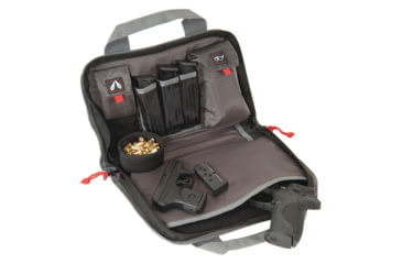 G.P.S. Wild About Shooting Double Pistol Case Black
