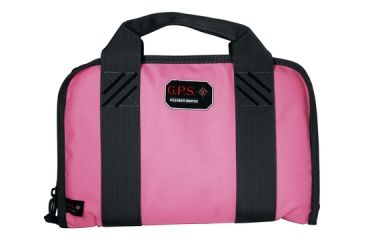 G.P.S. Wild About Shooting Double Pistol Case Pink