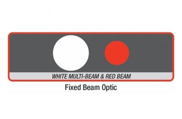 Coast G35 Dual Color Flashlight, Clam Pack TT1106CP