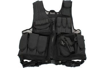 Galati Gear Black Deluxe Tactical Vest - Standard 105880