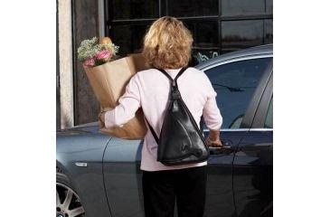 2-Galco Addison Holster Handbag Ambidextrous - Black ADDBLK