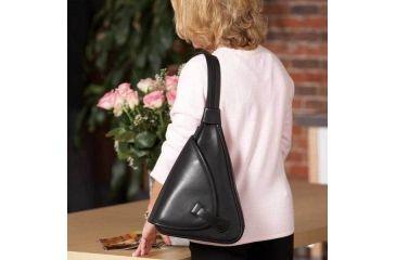 1-Galco Addison Holster Handbag Ambidextrous - Black ADDBLK