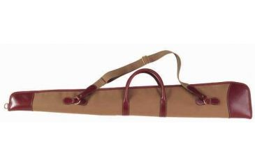 Galco Canvas & Leather Zippered Rifle Case Ambidextrous - Chestnut - Size:47'' Oal CT1070KH