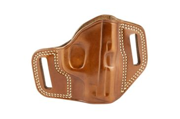 21-Galco Combat Master Belt Holster, Leather